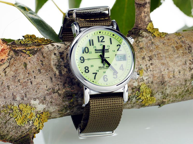 semptec zeigt schicke outdoor armbanduhr mit funk und. Black Bedroom Furniture Sets. Home Design Ideas