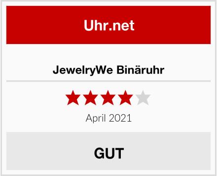 JewelryWe Binäruhr Test
