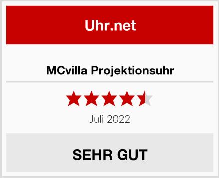 MCvilla Projektionsuhr Test