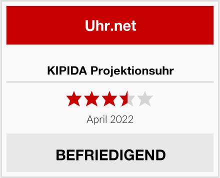 KIPIDA Projektionsuhr Test