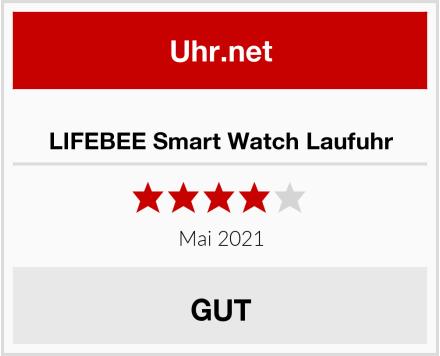 LIFEBEE Smart Watch Laufuhr Test