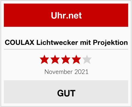 COULAX Lichtwecker mit Projektion Test