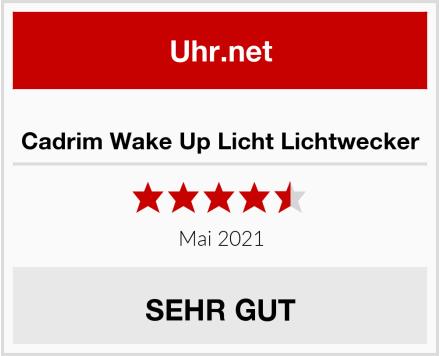 Cadrim Wake Up Licht Lichtwecker Test