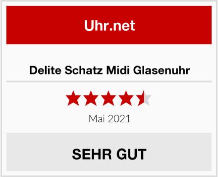 Delite Schatz Midi Glasenuhr Test