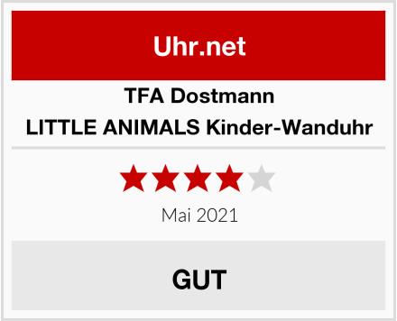 TFA Dostmann LITTLE ANIMALS Kinder-Wanduhr Test