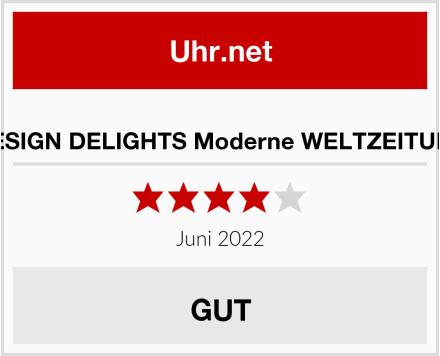 DESIGN DELIGHTS Moderne WELTZEITUHR Test