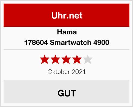 Hama 178604 Smartwatch 4900 Test