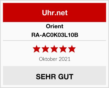 Orient RA-AC0K03L10B Test