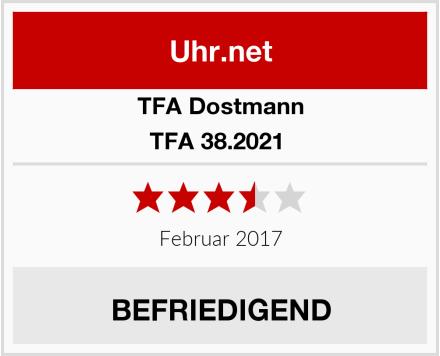 TFA Dostmann TFA 38.2021  Test