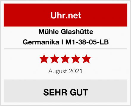 Mühle Glashütte Germanika I M1-38-05-LB Test