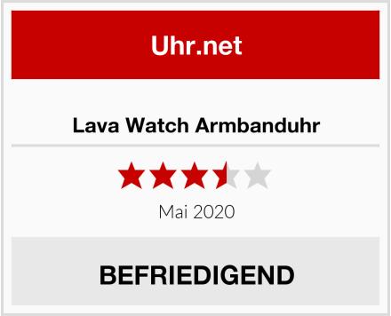 No Name Lava Watch Armbanduhr Test