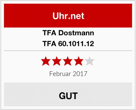 TFA Dostmann TFA 60.1011.12 Test