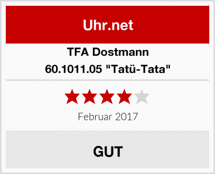 """TFA Dostmann 60.1011.05 """"Tatü-Tata"""" Test"""