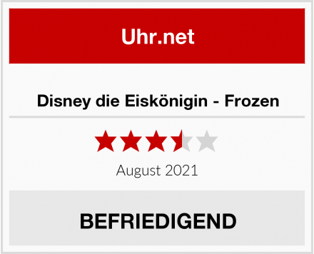No Name Disney die Eiskönigin - Frozen Test