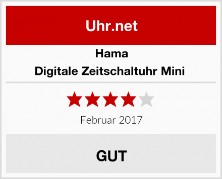 Hama Digitale Zeitschaltuhr Mini  Test
