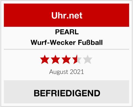 PEARL Wurf-Wecker Fußball Test