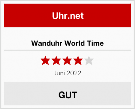 Wanduhr World Time Test