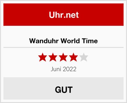 Wanduhr World Time Test