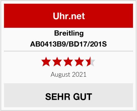 Breitling AB0413B9/BD17/201S Test