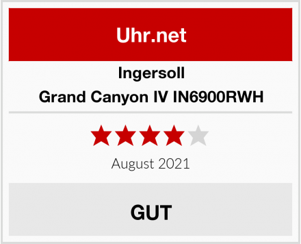 Ingersoll Grand Canyon IV IN6900RWH Test