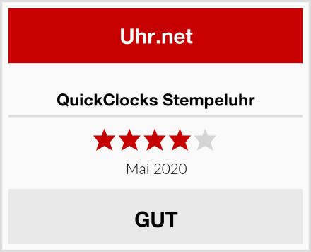 QuickClocks Stempeluhr Test