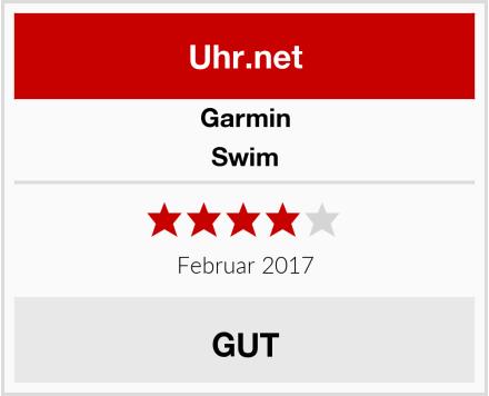 Garmin Swim Test