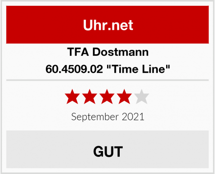 "TFA Dostmann 60.4509.02 ""Time Line"" Test"