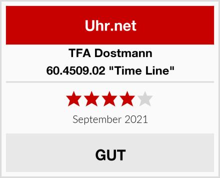 "TFA Dostmann 60.4509.02 ""Time Line"" Test"