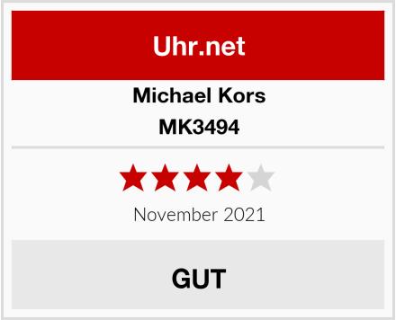 Michael Kors MK3494 Test