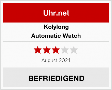 Kolylong Automatic Watch Test