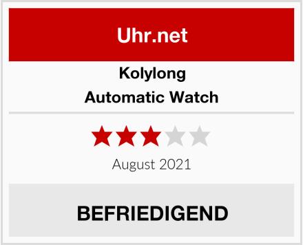 Kolylong Automatic Watch Test