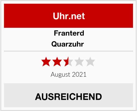 Franterd Quarzuhr  Test