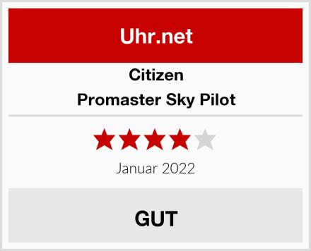 Citizen Promaster Sky Pilot Test