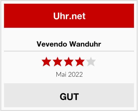 Vevendo Wanduhr Test