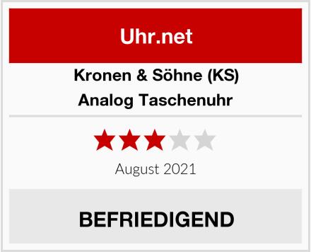 KS Analog Taschenuhr Test