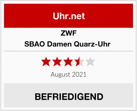 ZWF SBAO Damen Quarz-Uhr  Test