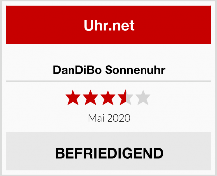 No Name DanDiBo Sonnenuhr Test