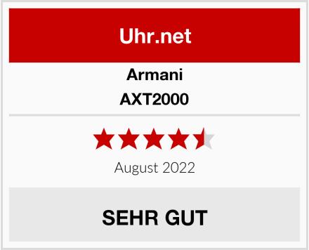 Armani AXT2000 Test