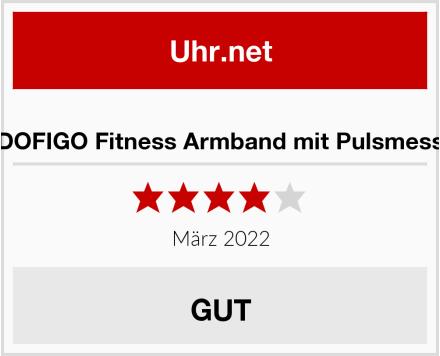 LIDOFIGO Fitness Armband mit Pulsmesser Test