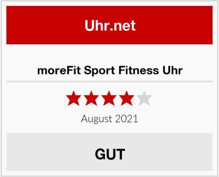 moreFit Sport Fitness Uhr Test