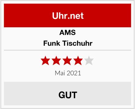 AMS Funk Tischuhr Test