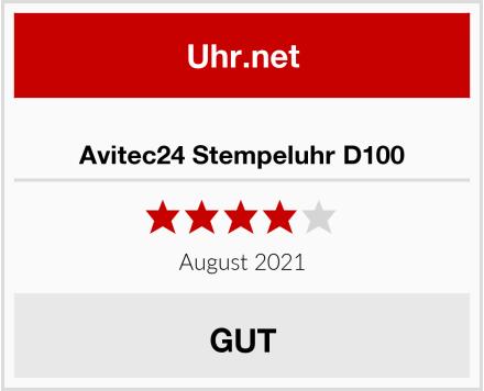 Avitec24 Stempeluhr D100 Test
