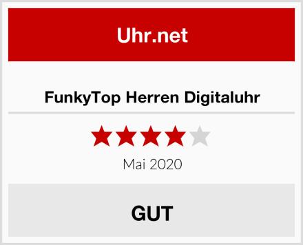 FunkyTop Herren Digitaluhr Test