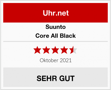 Suunto Core All Black Test
