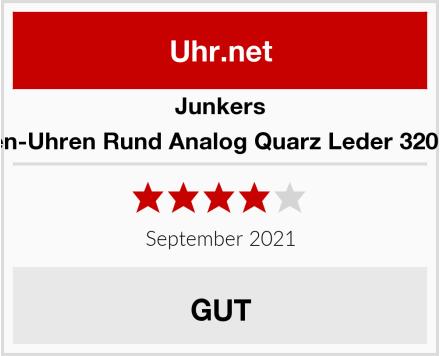 Junkers Herren-Uhren Rund Analog Quarz Leder 32001727 Test