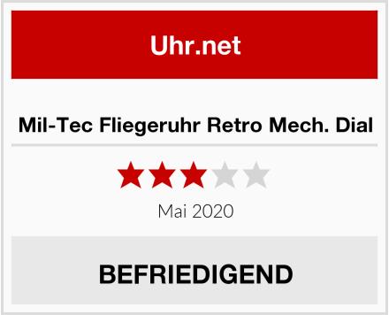 Mil-Tec Fliegeruhr Retro Mech. Dial Test
