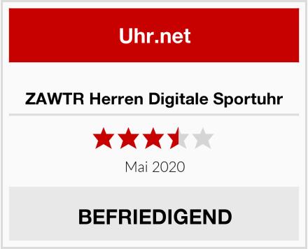 No Name ZAWTR Herren Digitale Sportuhr Test
