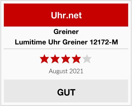 Greiner Lumitime Uhr Greiner 12172-M Test