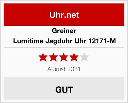 Greiner Lumitime Jagduhr Uhr 12171-M Test