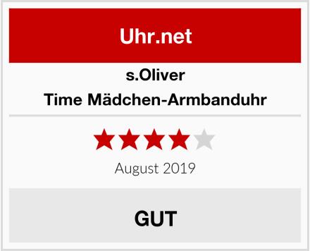 s.Oliver Time Mädchen-Armbanduhr Test